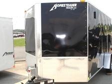 2017 7 X 12 Homesteader Patriot V Nose Enclosed Trailer