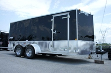 Homesteader 7 x 16 Enclosed  Trailer with Deluxe Pkg