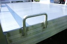 6 X 10 Aluminator     Aluminum Trailer    Custom Wheel Pkg inculded