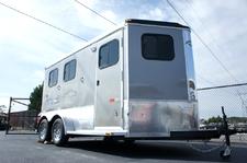 Homesteader Stallion 2 Horse Front Load-Bumper Trailer 2015