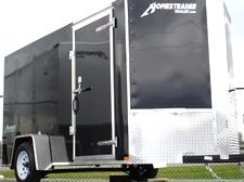 2015 Patroit Vee  Nose Enclosed Trailer Ramp Door 36