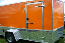 2015 Homesteader Enclosed Trailer Ramp Door Pkg
