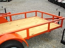 2015 5 x 10 Utility Trailer Ramp Gate