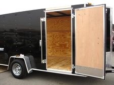 2015  Patriot V Nose Motorcycle Enclosed Trailer