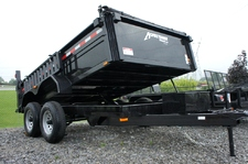 Dump Trailer 7 X 12 Equipment Hauling Pkg