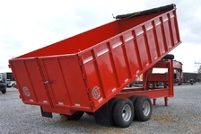 Homesteader Dump Trailer 8 X 18